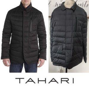 NWT TAHARI Men's Down Quilted Puffer Coat